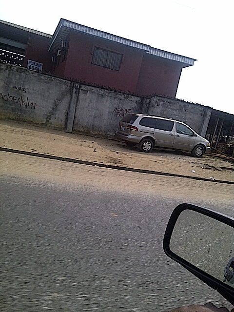 GOVERNOR AMAECHI'S BULLDOZERS READY FOR ANOTHER DEMOLITION GALORE!