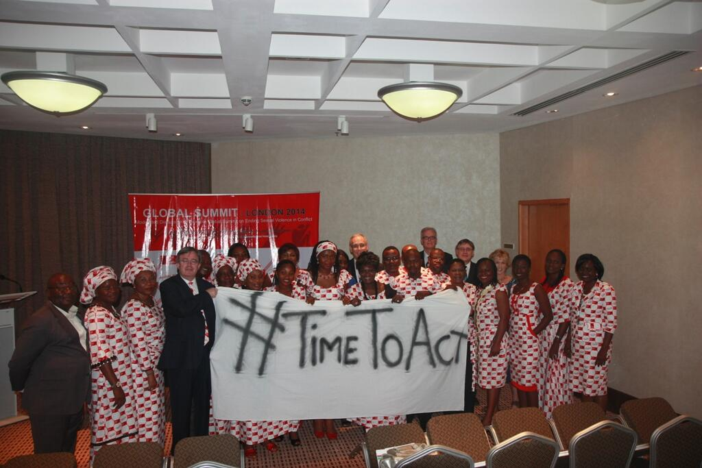 Staff take part in Ending Sexual Violence in Conflict summit hosted by British High Commission