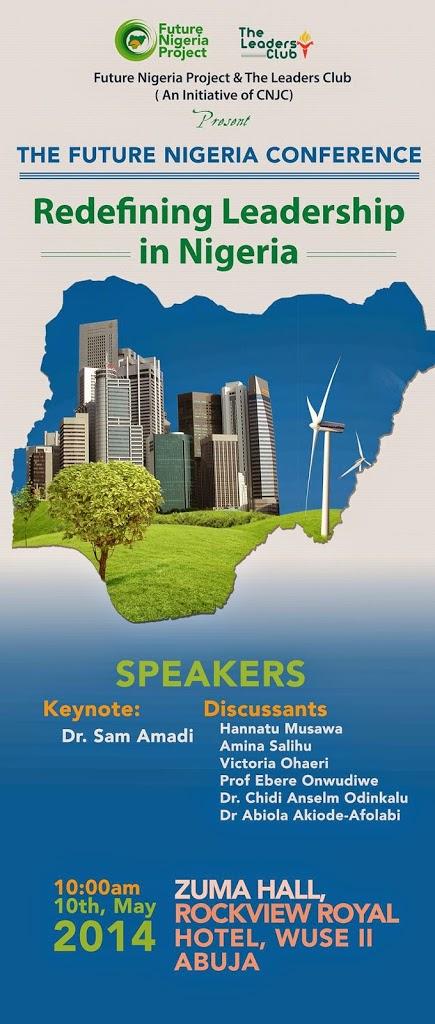CONFERENCE ANNOUNCEMENT: Future Nigeria Project