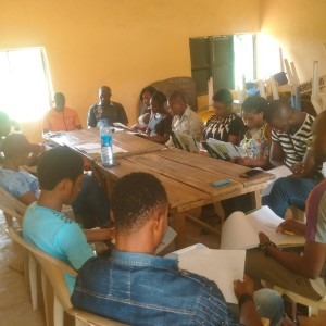 ENUMERATOR TRAINING IN UZOAGBA