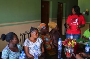Empowering Displaced Women to Overcome