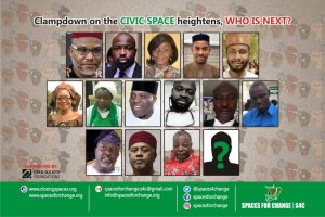 Press Release: END THE CRACKDOWN ON CIVIC GROUPS NOW!