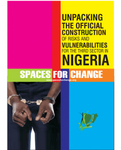 Unpacking the Official Construction of Risks and Vulnerabilities for the Third Sector in Nigeria
